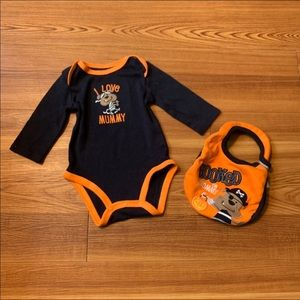 Halloween Onesie with Bib